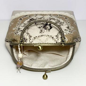 Francia Romantikus táska belseje VIN03