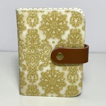 Arany damaszk bankkártya tartó  BAN02