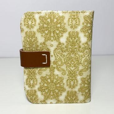 Arany Damaszk Bankkártya tartó háta BAN02