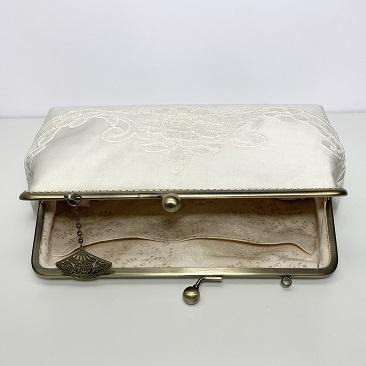 Vintage kistáska belseje