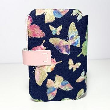 Butterfly zsebkendő tartó hátulja