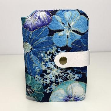 Kék szellővirág zsebkendő tartó ZSE10